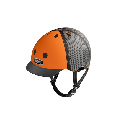 Шлем Nutcase Street Helmet Trucker Orange Matte